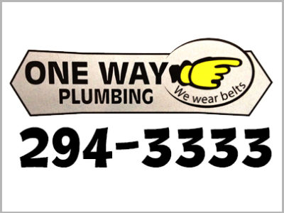 One Way Plumbing logo