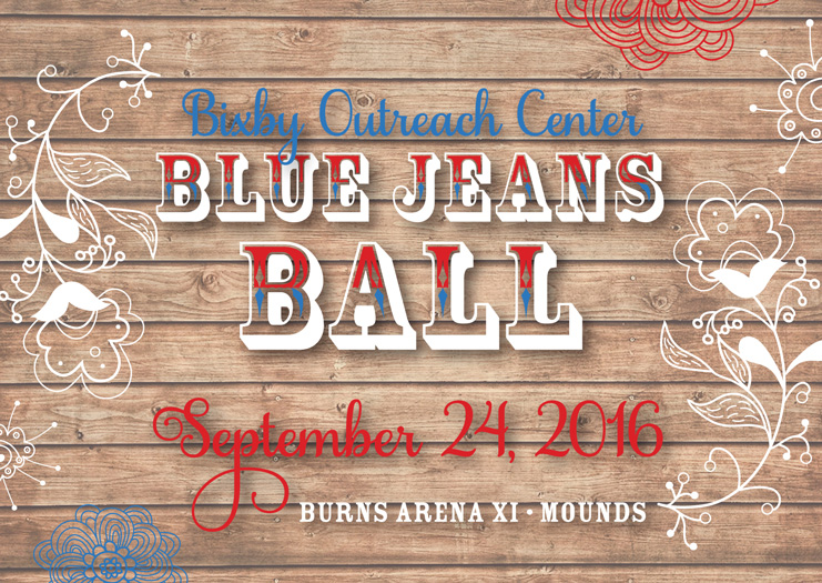 Blue Jeans Ball 2016 Invitation