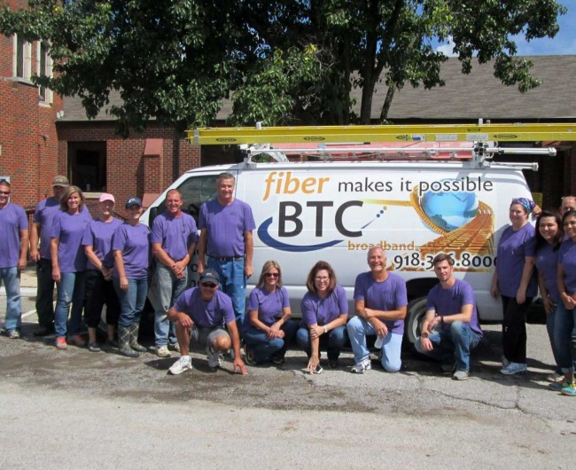 BTC Volunteers at BOC