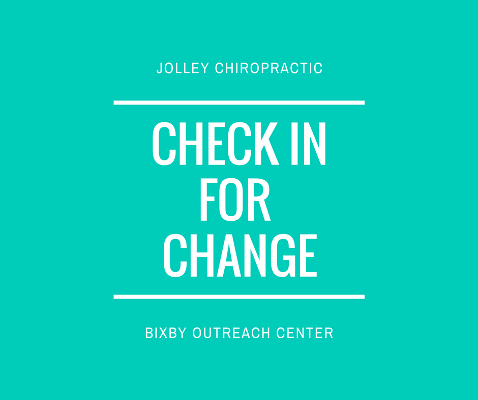 Jolley Chiropractic Check In For Change