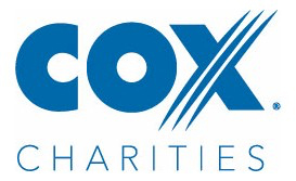 Logo for Cox Charities - Connecting and Caring