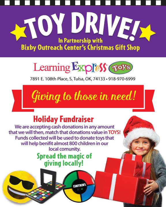 Learning Express Toy Drive for BOC