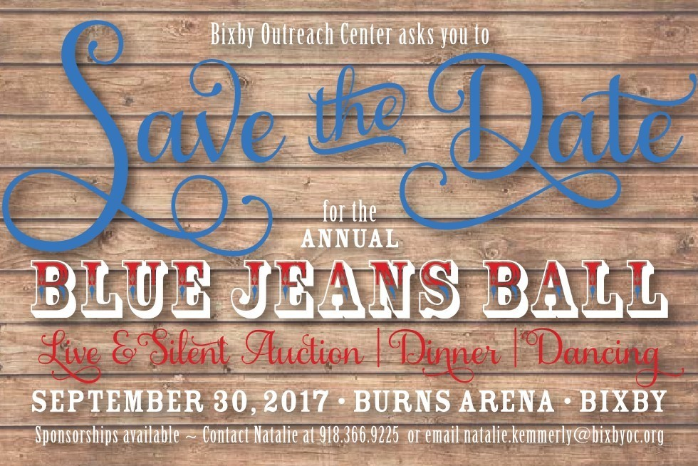 Save the Date for the annual Blue Jeans Ball 2017