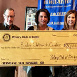Rotary Club of Bixby Donation to BOC