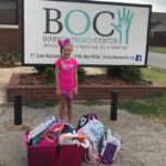 Community kid donates birthday presents to BOC.