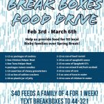 2020 Break Boxes Food Drive