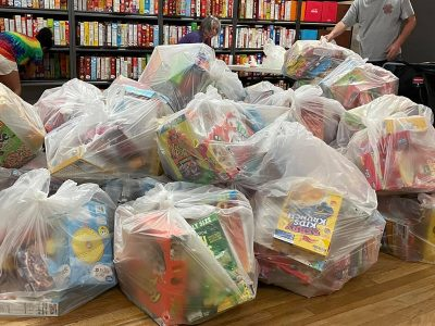 Cereal donation from BPS